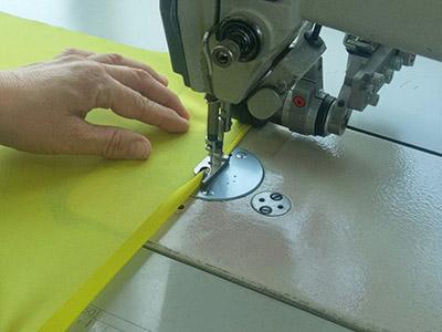 三つ巻き縫製