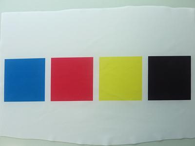 単色で印刷