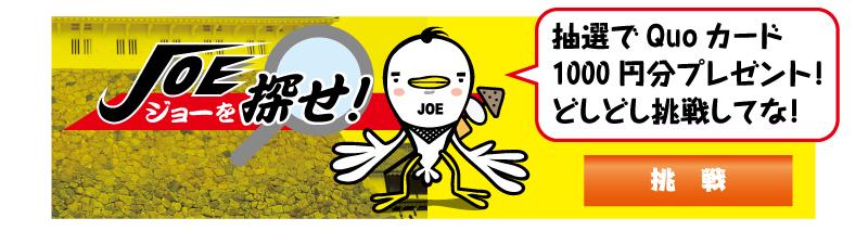 JOEを探せ