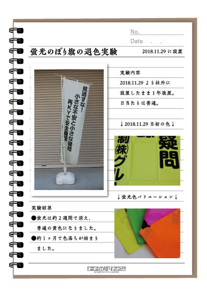 のぼり旗実験1